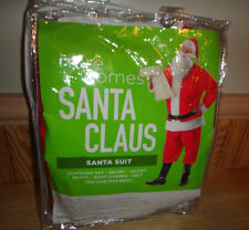 Here Comes Santa Claus Santa Suit Santa Costume Adult One Size Fits Most NEW