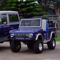 66 BRONCO -Custom Golf Cart BODY KIT fits Club Car DS-Yamaha-EZGO w/lights/hardw