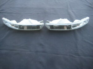 98-01 DC2  Acura Integra Clear Bumper turn Signal lights Corner lamps Rare
