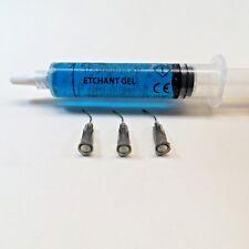 Dental Etching Gel Phosphoric Acid 37% | 12 Grs | Blue | Extra Tips PRIME DENT