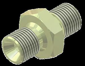 "Hill Pumps 1/8"" BSP Male to 1/8"" Male Adaptor for Hill PCP Air Pump - 06R20138"