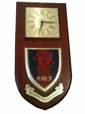 RWF Royal Welch Fusiliers Regiment Military Wall Plaque & Clock