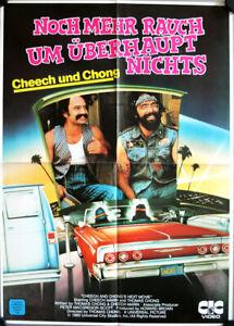 Cheech & Chong's Next Movie Noch mehr Rauch German video movie poster DinA2