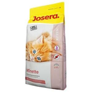 7,88 €/kg JOSERA Minette Kitten wachsende/ tragende/säugende Katzen 2x2kg