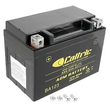 Caltric YTX9-BS AGM Battery for Triumph T2500183 AGM Battery 12Volt 8Ah
