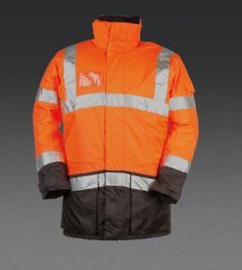 SIOEN Hi-Viv Orange lightflash parka 313AN2ES3279 Size Medium