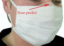 NEW Washable Reusable Face Mask Breathable Three Layers Protection Street Salon