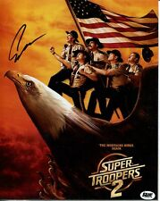 Erik Stolhanske Super Troopers 2 Rabbit Bam Box Signed Autograph Photo COA
