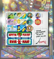 The Simpsons Pinball Party (TSPP) Target and Kwik-E-Mart Sign Decal Mod