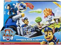 Paw Patrol Chase's Ride N Rescue Transforming Playset and Police Cruiser
