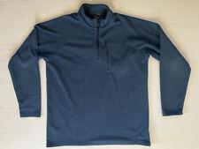 Oakley Mens Large Blue Fleece Jacket 1/4 Zip Pullover Excellent