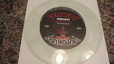 KROKUS notre amour TRANSPARENT vinyle 30.5cm Heavy Metal Unique - WL PROMO N.