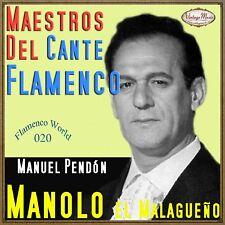 MANOLO EL MALAGUEÑO CD Flamenco World #20/22 Spain Guitar Baile Cante Jondo olé