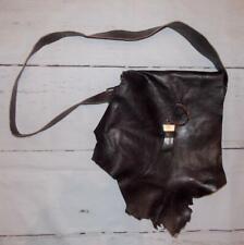 Fair Trade Leather Shoulder Bag Designer Hand Made Hippy Boho Hippie Festival
