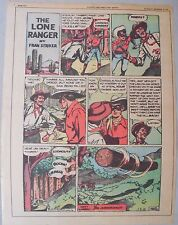 Lone Ranger Sunday Page by Fran Striker and Charles Flanders from 12/19/1943