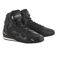 Alpinestars FASTER 3 Black Commuter Motorcycle Riding Shoe Boots