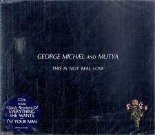 GEORGE MICHAEL & MUTYA This Is Not Real Love CD Single pt.2 NEW Sigillato