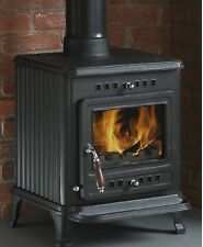 Mazona Cairo, 6.8kw Multifuel/ Woodburning Stove,Room Heater, Defra Approved
