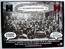 KAISER CHIEFS 2005 poster type Advert I PREDICT A RIOT