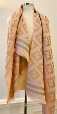 Luxury Designer Inspired Cashmere Silk Lightweight Scarf Wrap Pashmina GOLD