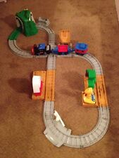 Fisher Price Toots the Train track Remote Control barn loader Nearly Complete