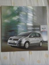 Nissan Livina brochure Nov 2009 South African market