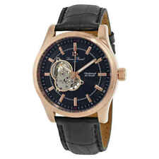 Lucien Piccard Morgana Open Heart Mechanical Hand Wind Men's Watch