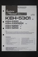 Pioneer keh-5301/5300/5300sdk/5200 / 5250 MANUAL DE SERVICIO/ESQUEMA