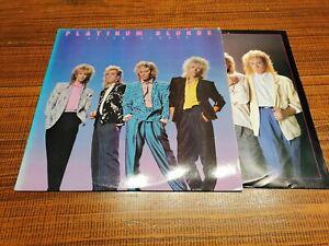 LP Vinyl Platinum Blondes Alien Shores + OIS