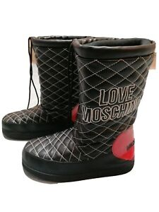 MOSCHINO SNOW BOOTS RRP £150 SIZE 6.5