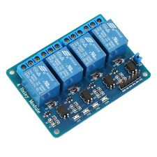 5V 4-Channel Relay Board Module for Arduino for Raspberry Pi ARM AVR DSP PIC FQ