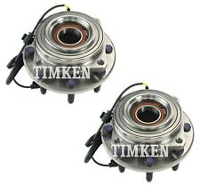 Pair Set 2 Front Timken Wheel Bearing Hub Kit for Ford F-250 F-350 SD 11-16 4WD