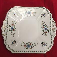 Vintage Shelley Chelsea Pattern 11280 Sandwich Plate 24cm