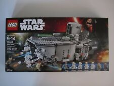 75103 LEGO Star Wars First Order Transporter 792 Pieces 7Mini Figures New in Box