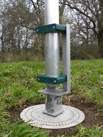 "Insulated Hinge Base - 2.0"" Mast (AE606T) | Antenna Engineering | Ham Radio"