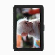 Baby Monkey Cigarette Case D6 Metal Wallet Adorable Ape Cute