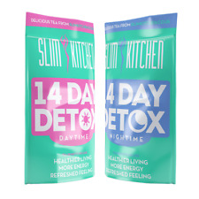 DETOX TEATOX TEA 14 DAY NIGHTIME & DAYTIME HERBAL TEABAGS MORNING NIGHT SLIMMING