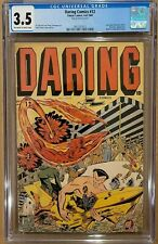 Daring Comics #12 CGC 3.5 Last issue Timely 1945 Allen Simon cover