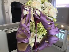 RARE! Nicholas Kirkwood Purple Lilac Platform High Heels Pumps 37.5 Retail $1389