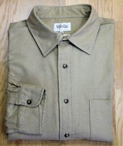 Viyella ~ 2XL ~ tan, brushed cotton, casual shirt