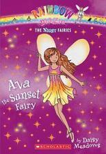 Ava the Sunset Fairy (Rainbow Magic Night Fairies #1) Meadows, Daisy Paperback