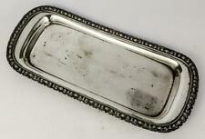 GEORGIAN OLD SHEFFIELD PLATE CANDLE SNUFFER TRAY c1820's