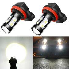Fog Light H11 Super White LED Bulbs Driving Lamps for Subaru WRX