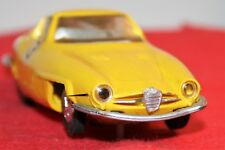 Slotcar – National Toys Alfaromeo Giulietta SS Special Gialla. 1963