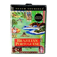 Teach Yourself Brazilian Portuguese A Complete Course Beginners Tape Audio Book