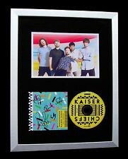 KAISER CHIEFS+SIGNED+FRAMED+STAY TOGETHER+RIOT=100% AUTHENTIC+FAST GLOBAL SHIP