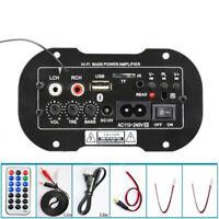 220V 50W Voiture Bluetooth Haute-Fidélité Basse Stéréo Amplificateur Audio USB