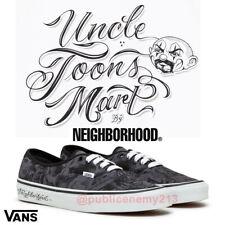 Uncle Toons Mart Vans Neighborhood 44 DX Dark Grey 10 Mr Mister Cartoon LA Art