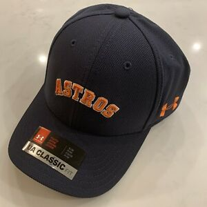 Under Armour Houston Astros Youth Flex Baseball Cap/Hat size X-Small/Small