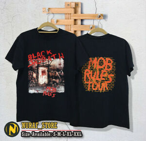 "Black Sabbath Mob Rules ""Kill Ozzy"" 1991 Tour USA  size (S-2XL)"